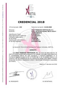 Credencial Anetva- 2018