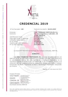 credencial anetva 2018